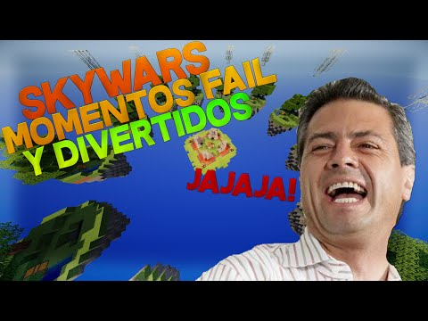 Skywars - Momentos Fails y Divertidos :3