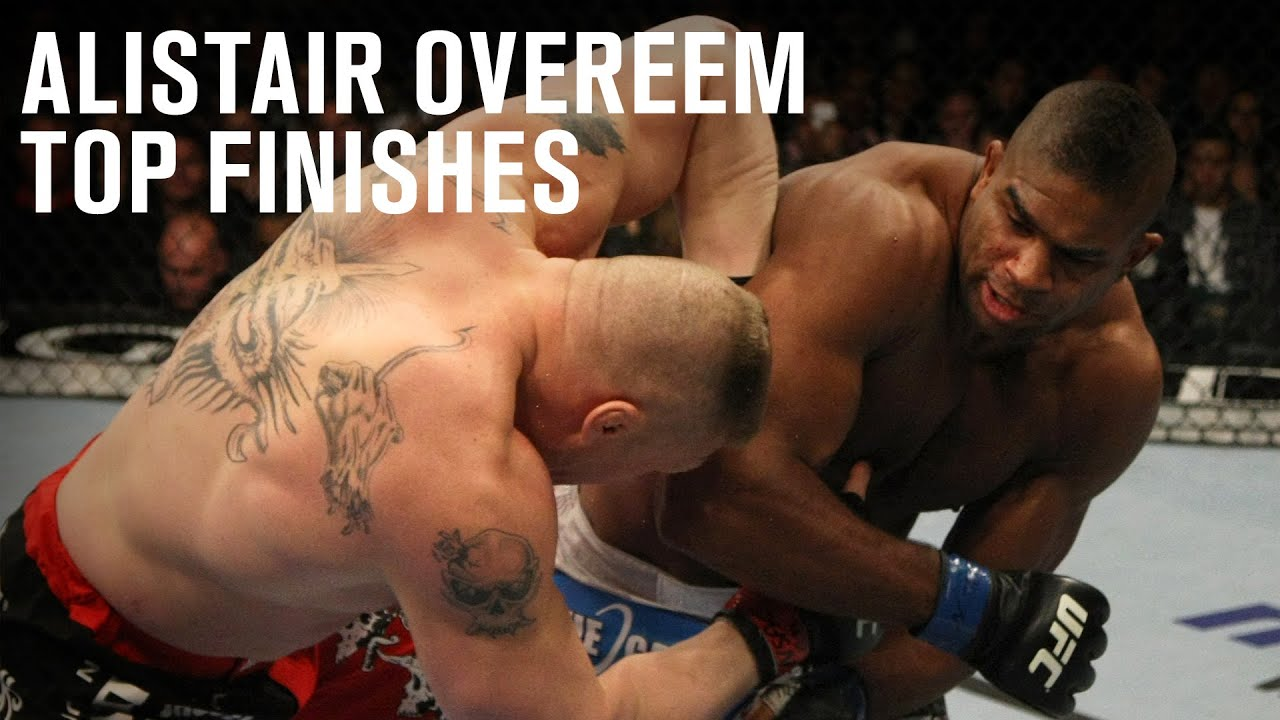 Top Finishes: Alistair Overeem