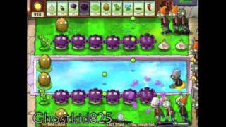 Plants Vs Zombies - Last Stand - Nearly-foolproof Setup [hd]