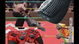 How To Drag Your Opponent In WWE 2K16 With Key-Board
