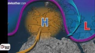 وكالات الأرصاد الجوية عاصفة استثنائية من الأمطار والثلوج تجتاح سوريا الأسبوع المقبل