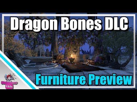 ESO: Dragon Bones DLC Furniture Preview!