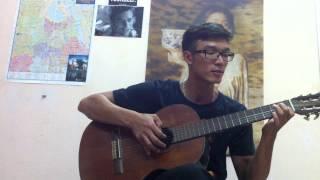 Ngày đầu tiên đi học - guitar music
