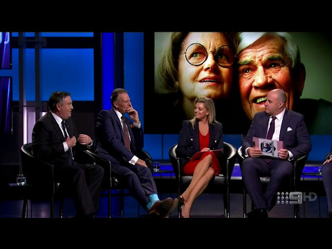 The Footy Show (AFL)- Lou Richards Tribute- May 11, 2017