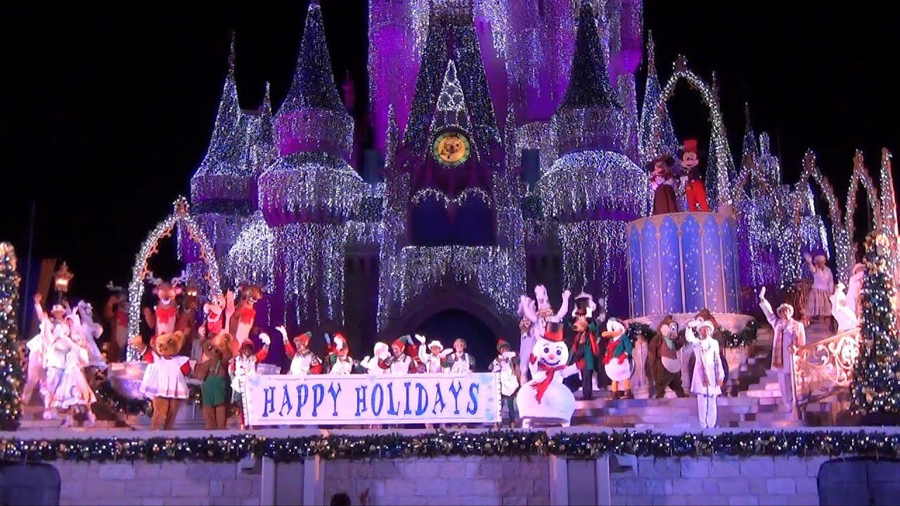 Celebrate The Season Show Mickey S Very Merry Christmas