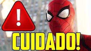 O ERRO QUE O SPIDERMAN PS4 NÃO PODE COMETER!