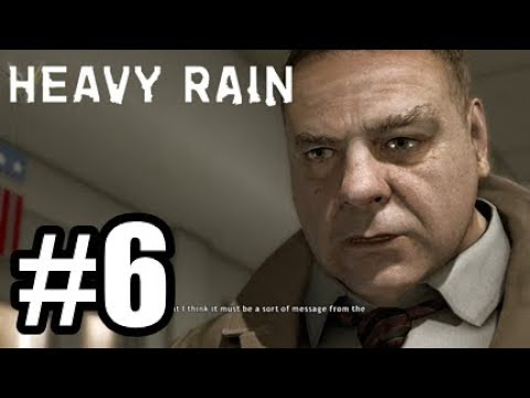 Heavy Rain Remastered PS4 #6 - Big Mouse!
