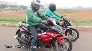 [Drag Race] - Yamaha MX King 150 VS Honda Sonic 150R | Exciter vs RS150