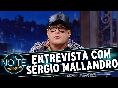 The Noite (01/09/16) - Entrevista com Sérgio Mallandro (ou Cavalcanti)