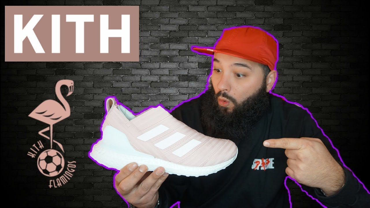 new style 6664c a800f KITH x ADIDAS NEMEZIZ ULTRA BOOST UNBOXING AND REVIEW!!! KITH FLAMINGO  SOCCER SET!