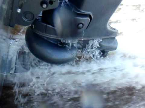 Video of custom tunnel to Suzuki 140 outboard jet motor