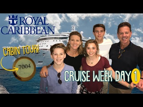 It's The Cruise to Nowhere + Cabin Suite Tour! | New Year's CRUISE WEEK Day 1