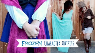 Outfits Inspired By: Disney Frozen l Frozen Character DisneyBounding: Elsa, Anna, Olaf, etc.