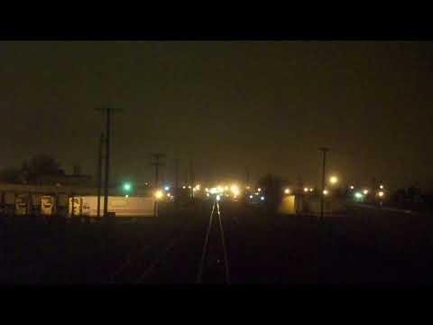 Amtrak Empire Builder Trip Fargo, ND-Moorhead, MN (Part 1/2)