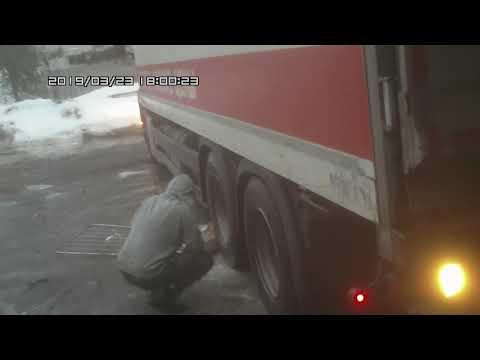 Тяжкая работа у водителей в Магните