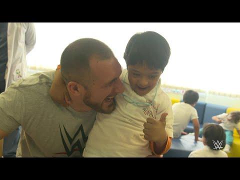 The highlight of Mojo Rawley's visit to Saudi Arabia