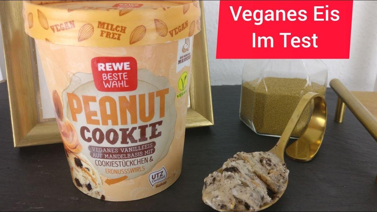 REWE Beste Wahl Peanut Cookie veganes Eis
