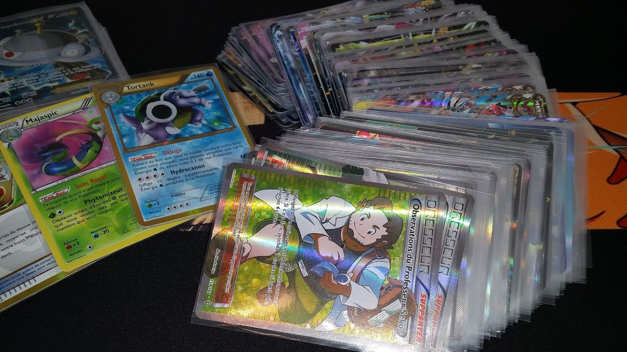 vente de carte pokemon Vente et Echange : Cartes Pokémon Ultra Rares (Mars 2015)   YouTube
