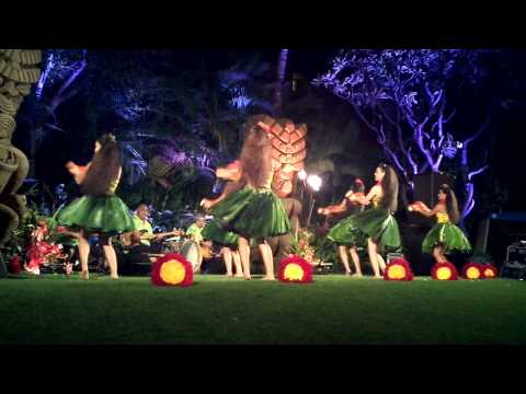Hawaiian Luau Dance-Hula of Hawaii, Waikiki