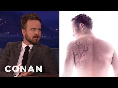 Aaron Paul: Lightning CAN Strike Twice  - CONAN on TBS