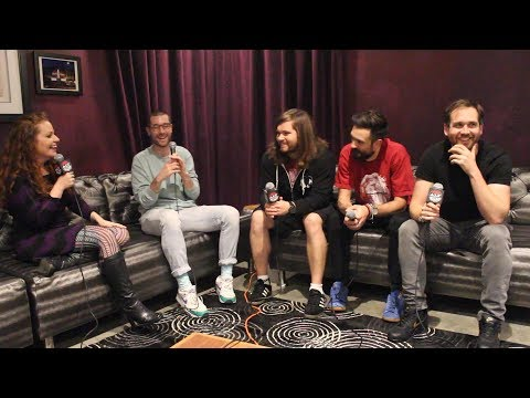Wendy Rollins - INTERVIEW: Bastille at Holiday Spectacular