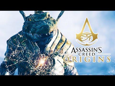 Assassin's Creed Origins - Enfrentando o Deus Sobek!!! [ Trial of the Gods - PS4 Pro ]