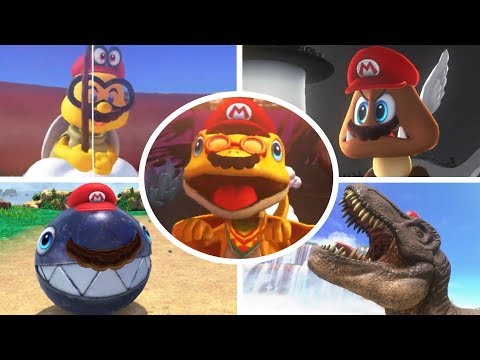Thumbnail: All Mario Transformations in Super Mario Odyssey (So Far)