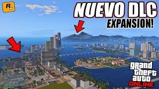 PRUEBO EL NUEVO DLC DE EXPANSIÓN DE MAPA EN GTA 5! VICE CITY EN GTA 5! TIENES QUE VER ESTO..