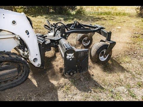 Новое навесное оборудование Bobcat для благоустройства