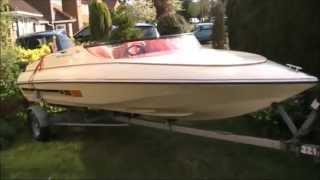 Simms Super V Speedboat for sale on Ebay