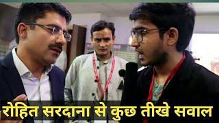 news mai hindu muslim kyu? rohit sardana exclusive interview
