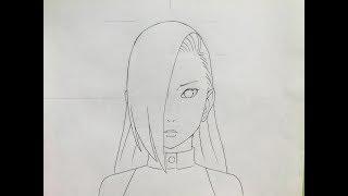 How to draw Ino Yamanaka (Naruto)