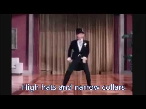 Puttin' on the Ritz (with lyrics)  Fred Astaire