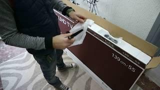 LG 55UK6200 4K Smart TV Unboxing