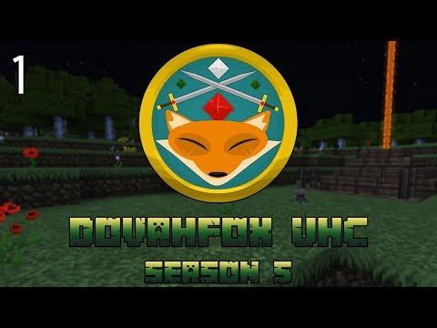 "UHC Minecraft | Dovafox Season 5 | ""The Killer Bunny Trap"" | UHC EP 1"