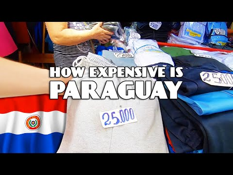 How expensive is Paraguay? 🇵🇾