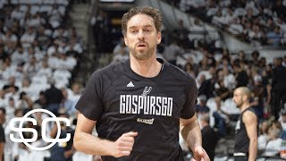 Pau Gasol Declines $16.2M Option Allowing Spurs To Pursue Big-Time Free Agent | SportsCenter | ESPN thumbnail