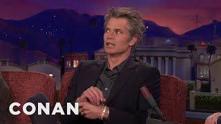 "Timothy Olyphant: My ""Avengers: Infinity War"" Cameo Was Cut  - CONAN on TBS"