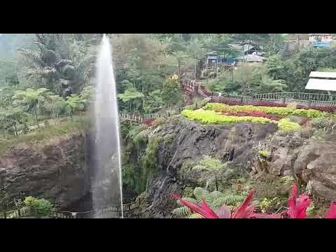 Obyek Wisata Baturaden Taman Dan Air Terjun Baturaden Purwokerto