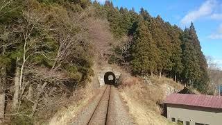 【三陸鉄道南リアス線・車内チャイム】綾里~恋し浜 前面展望