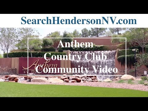 Living in Henderson, Nv: Anthem Country Club