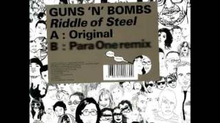 Download •· Guns N Bombs - Riddle Of Steel ·• MP3 song and Music Video