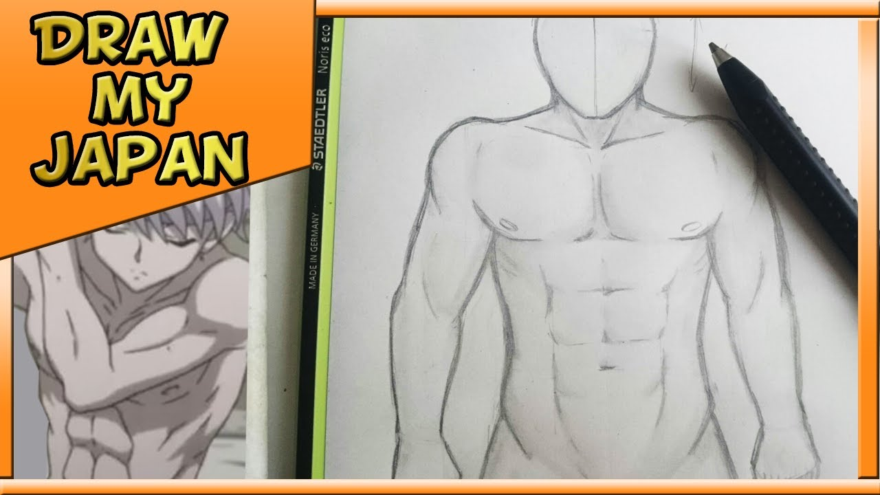 Comment Dessiner Un Corps Masculin Tuto Style Manga Youtube