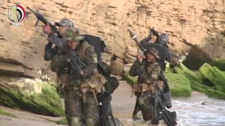بالفيديو.. وزير الدفاع يشهد المرحلة الرئيسية للتدريب المشترك «العقبة 2015»