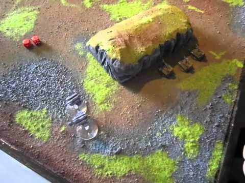 Epic Armageddon battle report: Scions of Iron Space Marines vs Imperial  Guard, part 2 / 2