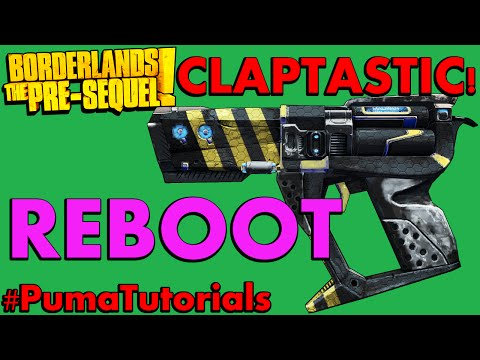 Borderlands: The Pre-Sequel! Unique Weapons Guide - Reboot Pistol #PumaTutorials
