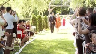 多伦多的草坪婚礼场地(详见描述) - Walk Down the Aisle Toronto Wedding | 安大略省多伦多婚礼场地 | 浓情录像摄影 Forever Videoing