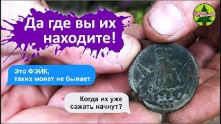 Редкая монета в лесной глуши / Лесные Копатели