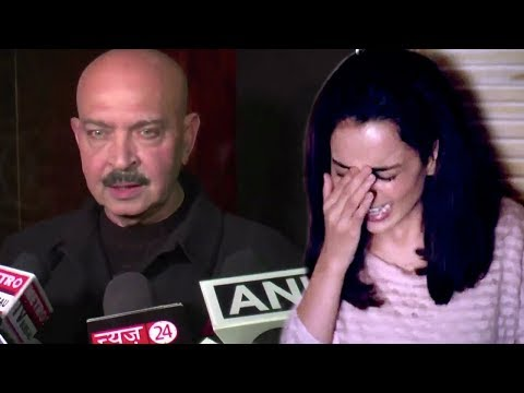 Rakesh Roshan's ANGRY Reaction On Kangana Ranaut And Hrithik Roshan Controversy
