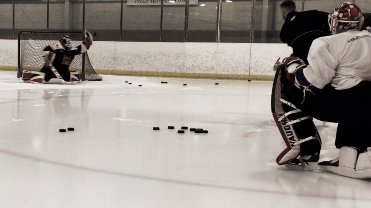 Hockey Goalie Drill Videos By Goalie Coaches Youtube